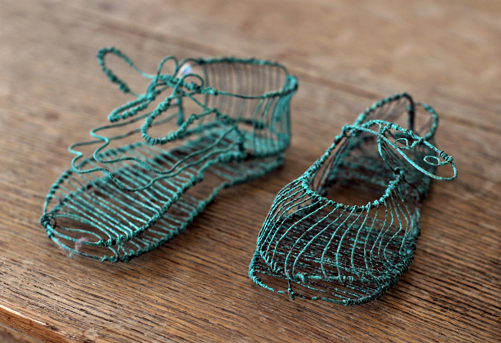 Verdigris Baby Shoes