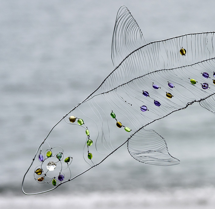 Silver Fish (detail)