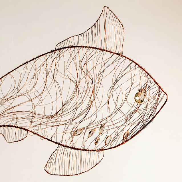 Starry Smooth Hound Shark (detail)